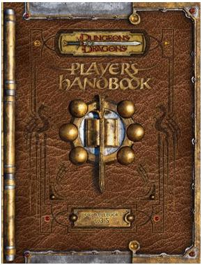 Dungeons & Dragons Players Handbook V.3.5