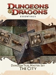 D&D 4th Ed Essentials Dungeon Tiles Master Set The City