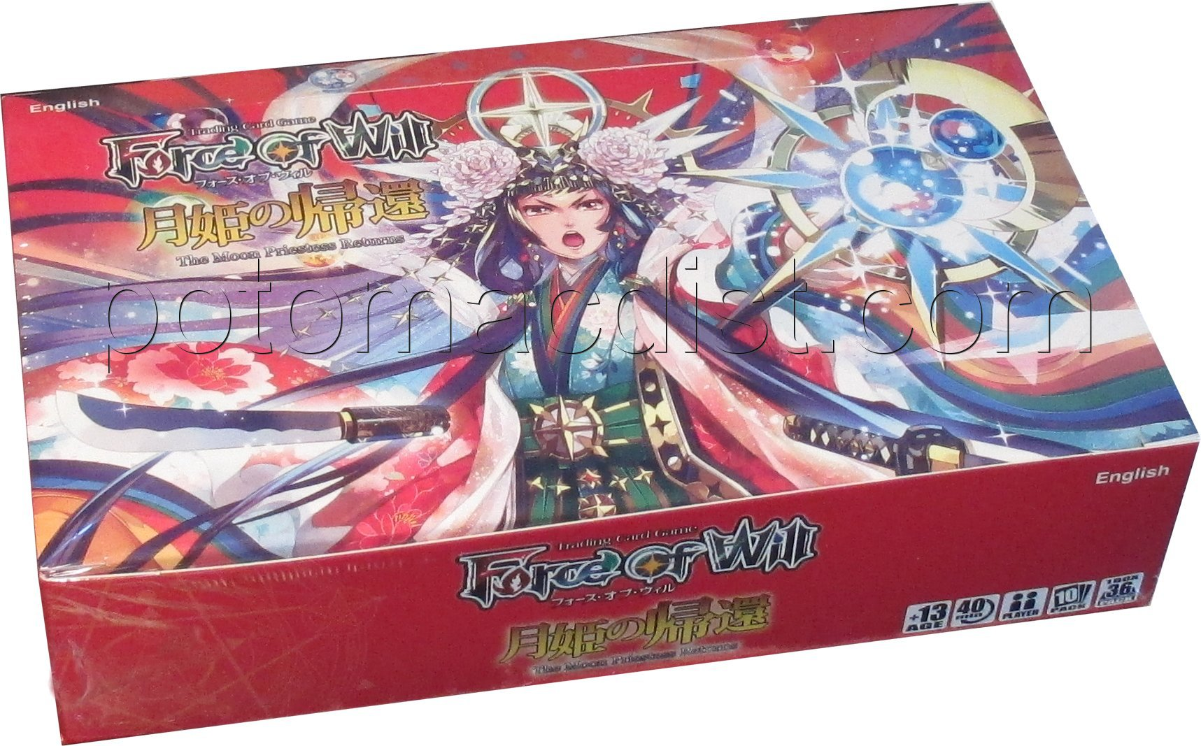 Force of Will TCG - Grimm03 - 'The Moon Priestess Returns' Booster Box