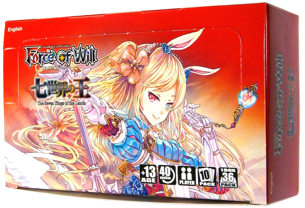 Force of Will TCG - Alice01 - 'The Seven Kings of the Lands' Booster Box