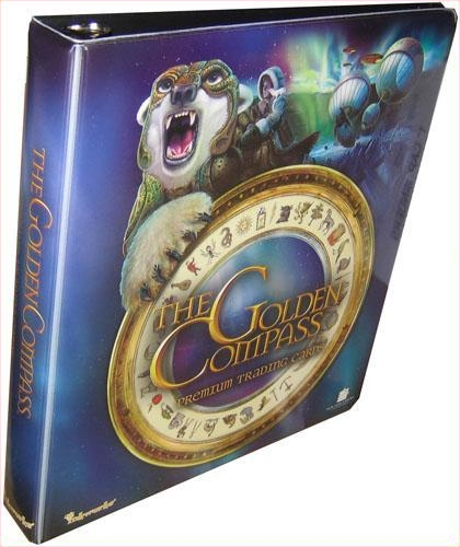 Inkworks The Golden Compass Trading Cards Collectible Binder
