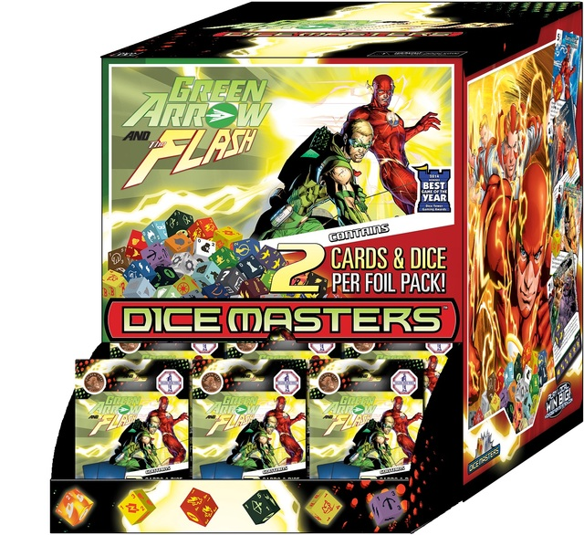 DC Dice Masters: Green Arrow and The Flash 90ct Booster Counter-top Display