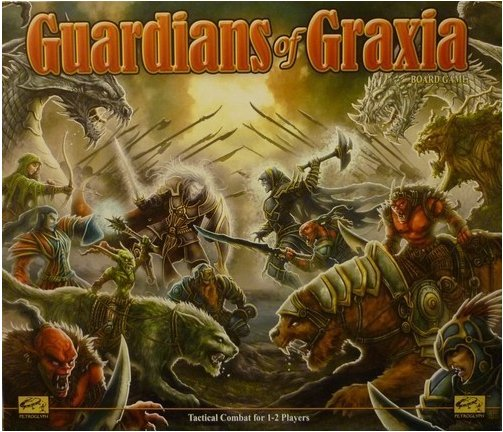 Guardians of Graxia Board Game