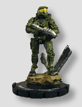 Halo ActionClix Master Chief #500 Promo Figure