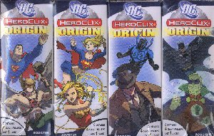 DC HeroClix Miniatures: Origin Booster 12ct Brick