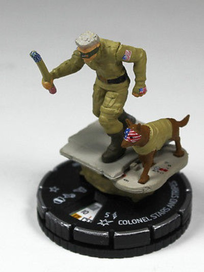 Heroclix KA2 Colonel Stars & Stripes #200 Promo Figure