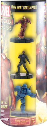 Heroclix Classic Iron Man Armor Wars Battle Pack