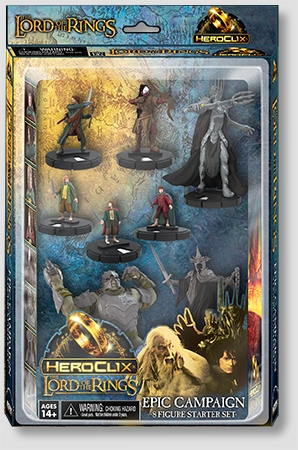 LOTR HeroCilx Miniatures: Lord of The Rings Starter 8-Pack