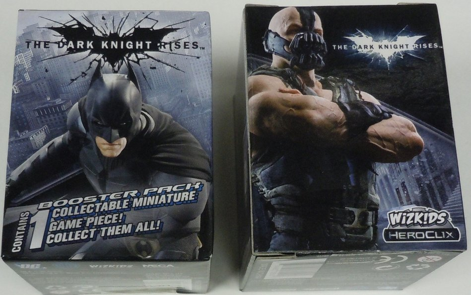 DC HeroClix Miniatures: Dark Knight Rises lot of 24 Packs