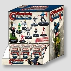 Marvel HeroClix Miniatures: Captain America 24ct Gravity Feed Box