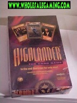Highlander CCG The Watcher Chronicles Limited Booster Box