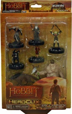 HeroClix Hobbit: An Unexpected Journey Campaign Starter Set