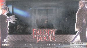 Horrorclix Miniatures Freddy vs. Jason Set