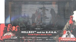 Horrorclix Miniatures Hellboy and the B.P.R.D. Set