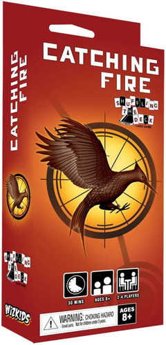 Hunger Games Catching Fire Shuffling the Deck Card Game