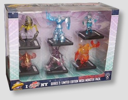 Monsterpocalypse Series 2 I Chomp NY Mega Monster Pack