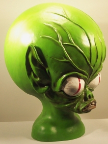 Invasion of the Saucer Men Alien Head Bust