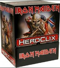 HeroClix Iron Maiden 24-Pack Counter Top Display Box