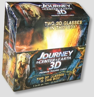 Inkworks Journey to the Center of The Earth 3D HOBBY Box