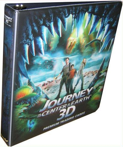 Inkworks Journey to the Center of The Earth Collectible Binder