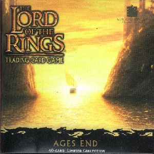 LOTR Ages End 40 Card Foil Set