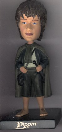 LOTR Upper Deck Pippin Bobble Head