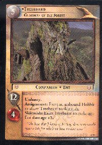LOTR Large Treebeard Guardian of the Forest Promo Card