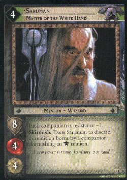 LOTR Rise of Saruman 140 Card Complete Set