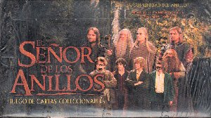 LOTR Spanish Fellowship of the Ring Starter Box