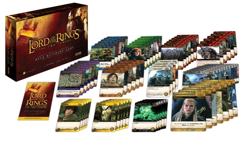 LOTR: Two Towers Deck Building Game