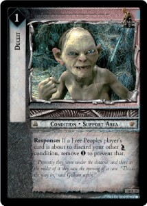 LOTR Treachery and Deceit 140 Card Complete Set
