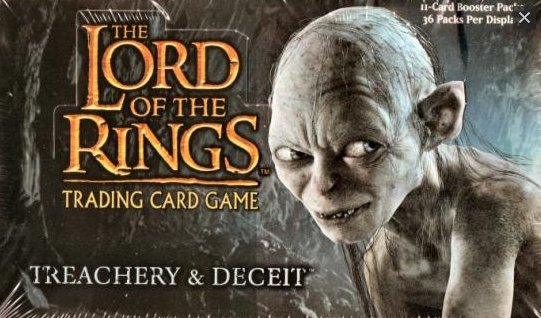 LOTR Treachery and Deceit Booster Box