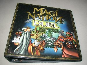 Magi Nation Duel Sealed Case of 6 3-Ring Binders