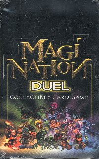 Magi Nation Duel Limited Booster Box Plus 4 Starter Decks