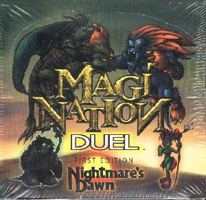 Magi Nation Duel Nightmares Dawn 1st Edition Starter Box