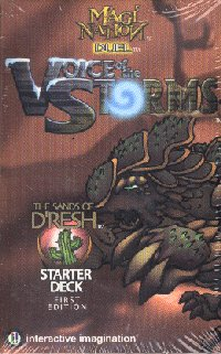 Magi Nation Duel Voice of Storms The Sands of Dresh 1st Edition Starter Deck