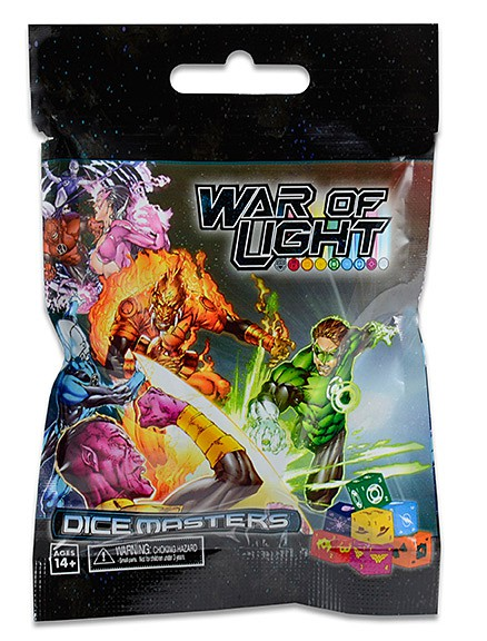DC Dice Masters: War of Light Dice Building Game 90ct Counter-top Display