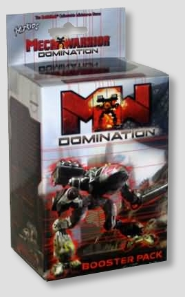 Mech Warrior Domination Lot of 12 Booster Packs