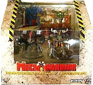 Mech Warrior Champions Action Pack Vol 1