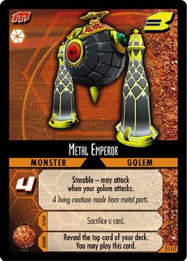 Dot Hack Metal Emperor 2S117 Foil Card