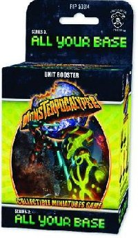Monsterpocalypse Series 3 All Your Base Unit Booster Pack