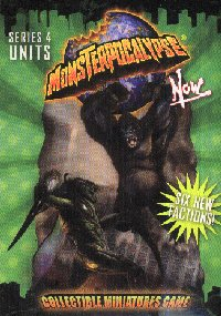 Monsterpocalypse Series 4 Now Unit Booster Case