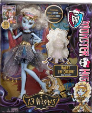 Monster High 13 Wishes Haunt the Casbah Abbey