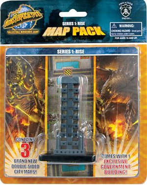 Monsterpocalypse Series 1 Rise Map  Pack