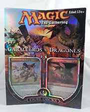 MTG Spanish Knights Vs Dragons Duel Deck