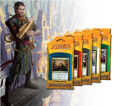 MTG Dragons Maze Set of 5 Intro Packs