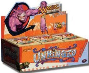 MTG Unhinged Booster Box