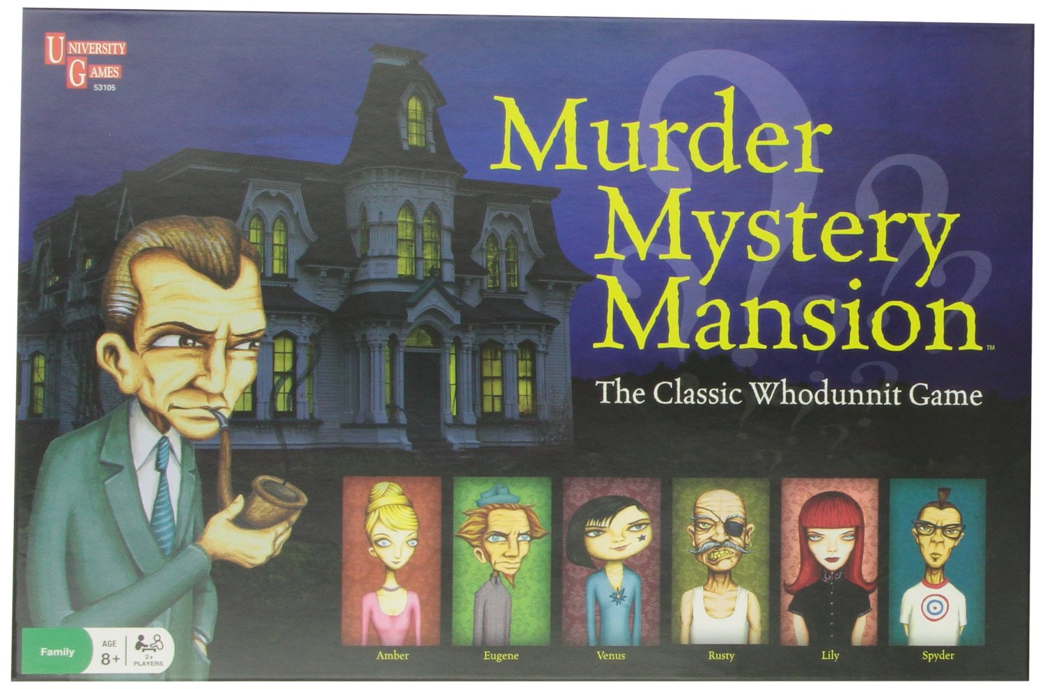 Murder Mystery Mansion Board Game