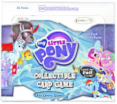 My Little Pony CCG 'Crystal Games' Theme Deck 8ct Display Box
