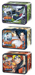 Naruto Unbound Power Lot of 3 Tins